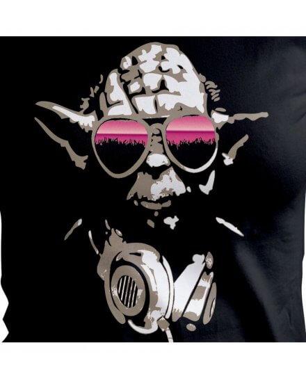 T-shirt Star Wars Femme DJ Yoda