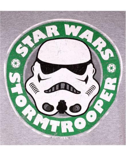 T-shirt Star Wars Stormtrooper Coffee Homme