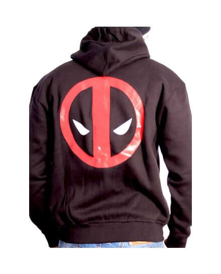 Sweat Deadpool zippé
