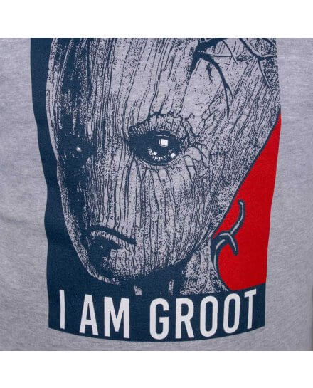 Sweat Groot Gardiens de la Galaxie gris