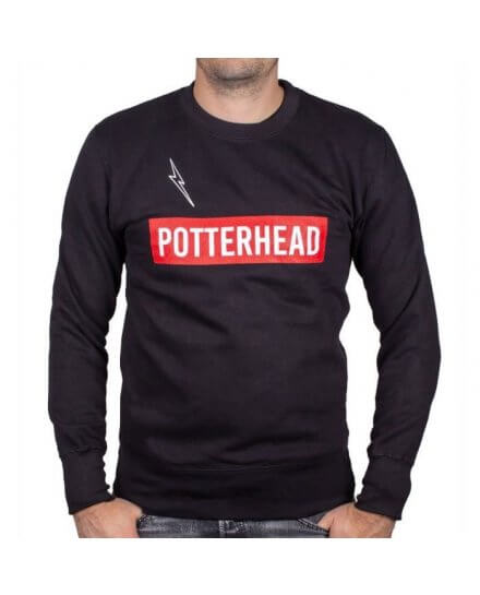 Sweat Harry Potter Potterhead noir
