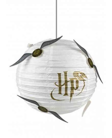 Suspension Harry Potter Boule blanche vif d'or