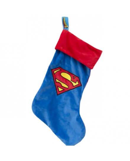 Chaussette de Noël Superman