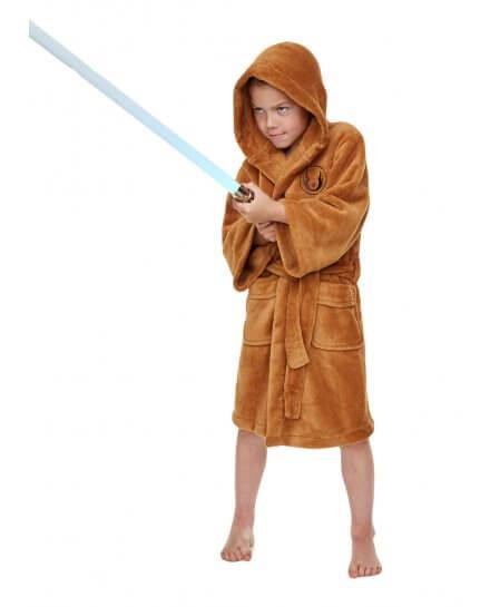 Peignoir Enfant Marron Jedi Star Wars