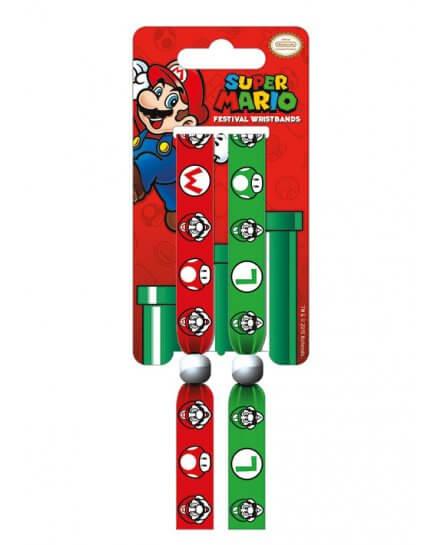 Bracelets Mario et Luigi Nintendo