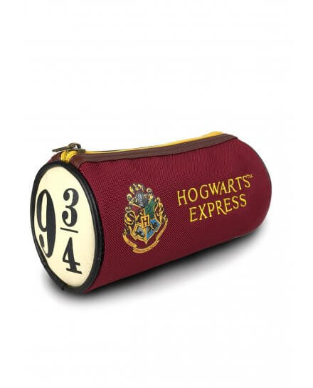 Trousse Poudlard Express 9 3/4 rouge et jaune Harry Potter