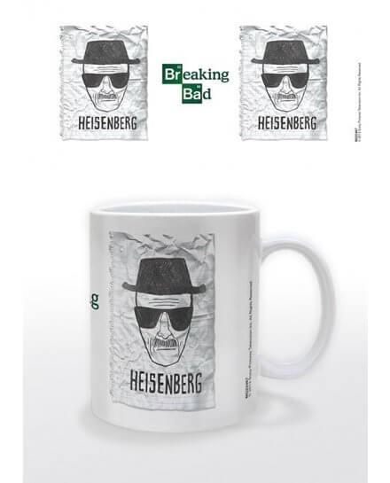 Mug blanc Heisenberg Wanted Breaking Bad