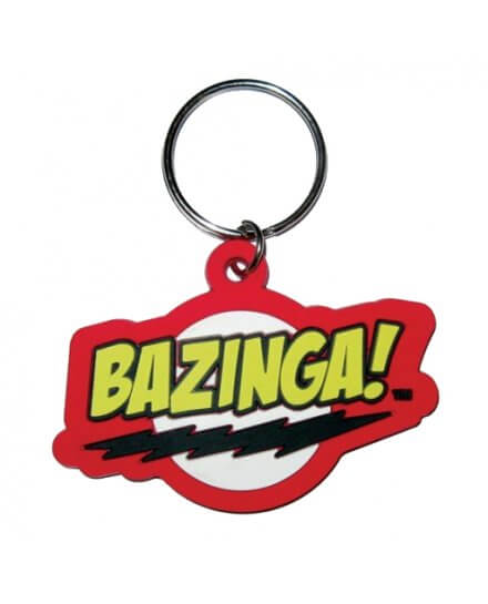 Porte-clés Bazinga The Big Bang Theory