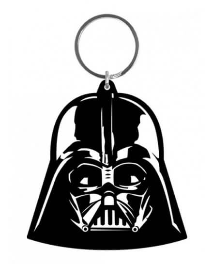 Porte-clés caoutchouc Dark Vador 6 cm Star Wars