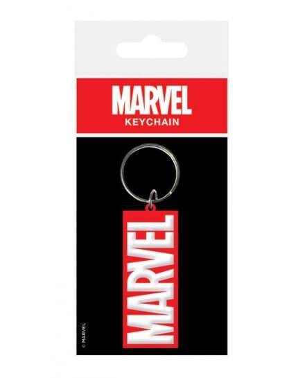 Porte-clés Caoutchouc Rouge Marvel