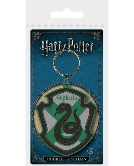 Porte-clés Caoutchouc Serpentard Harry Potter