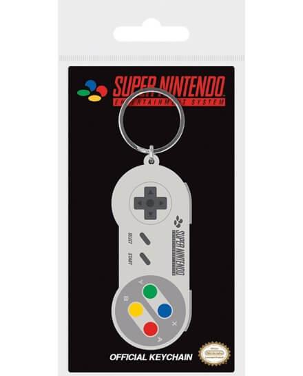 Porte-clés Manette Super Nintendo Geek