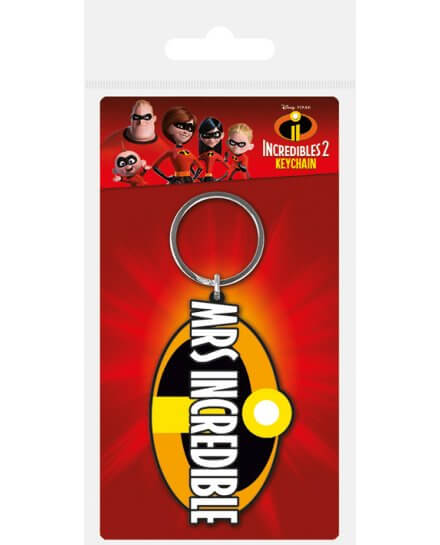 Porte-clés Mrs Indestructible Disney