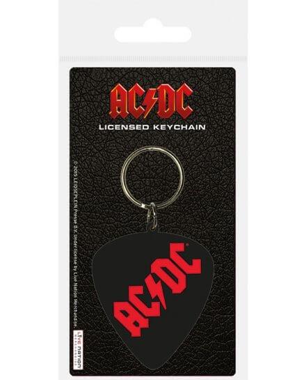 Porte-clés Plectrum ACDC