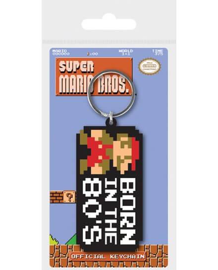 Porte-clés Super Mario Born in the 80's
