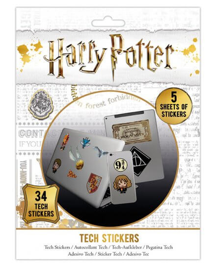 Pack de 34 tech stickers Harry Potter