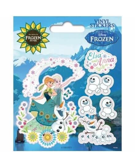 Pack de 5 Stickers Elsa et Anna Reines des Neiges
