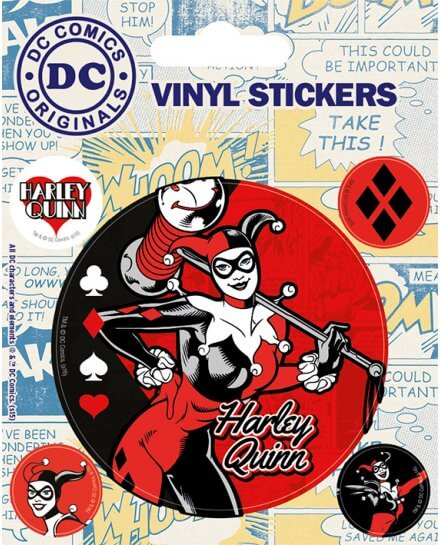 Stickers Harley Quinn DC Originals