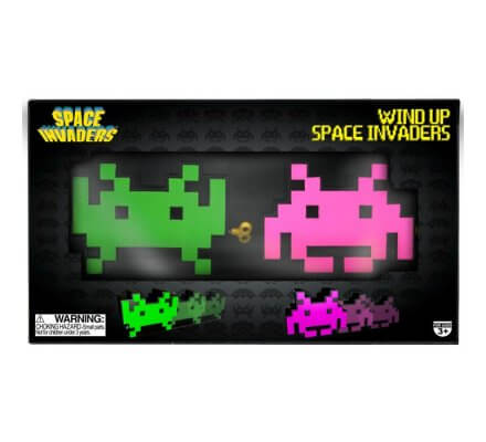 Figurines à remontoir Space Invaders