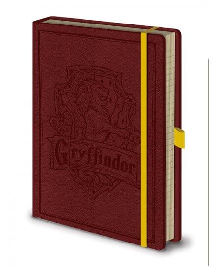 Carnet Bloc Notes A5 Gryffondor Harry Potter