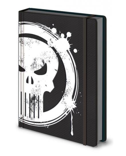 Carnet Bloc Notes A5 Skull Punisher