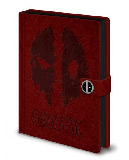 Carnet Bloc Notes A5 Splat Deadpool