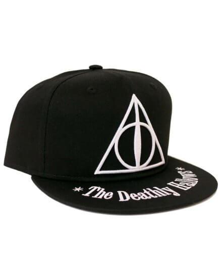 Casquette Harry Potter Noir Reliques de la mort