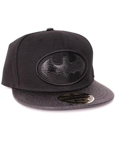 Casquette Noir Logo Gris Batman