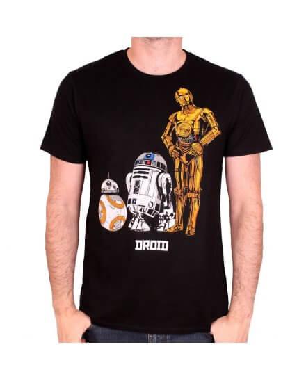 Tee-Shirt 3 Droids Star Wars