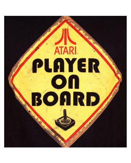 Tee-Shirt Atari Player on Board