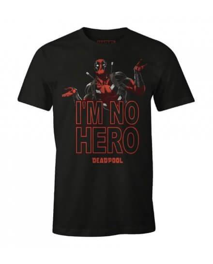 Tee-Shirt Deadpool I'm no hero