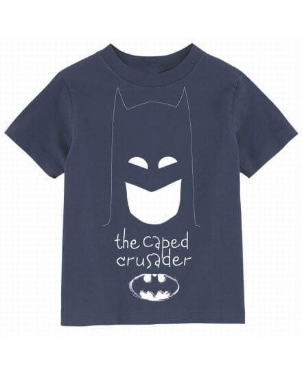 Tee Shirt Enfant Bleu Capes Crusader Batman