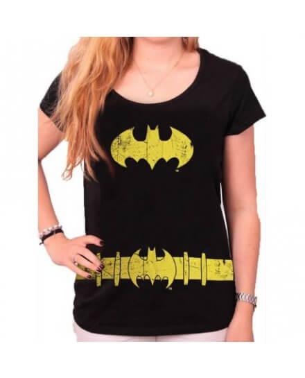 Tee Shirt Femme Noir Batgirl Batman