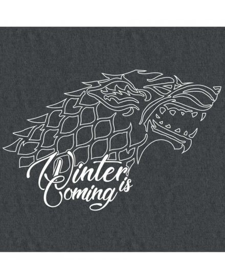 Tee-Shirt Game of Thrones femme Stark gris