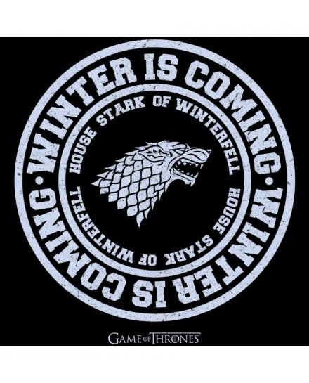 Tee-Shirt Game of Thrones femme Winter is coming