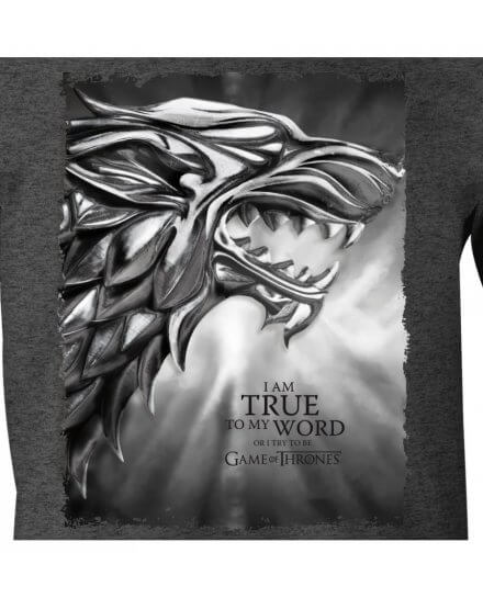 Tee-Shirt Game of Thrones gris I am the Sword