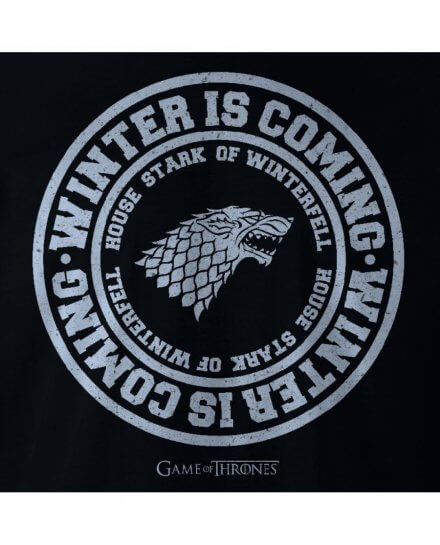 Tee-Shirt Game of Thrones Winter is coming Stark