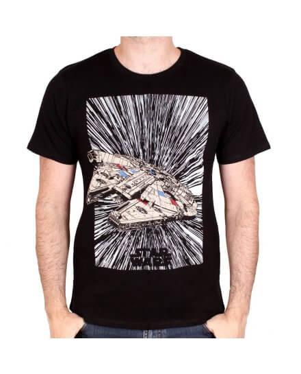 Tee-Shirt Jumps to Light Speed Star Wars