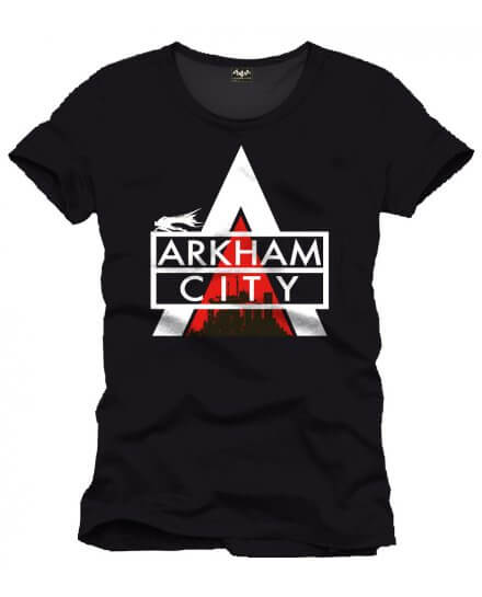Tee-Shirt Noir Arkham City Batman