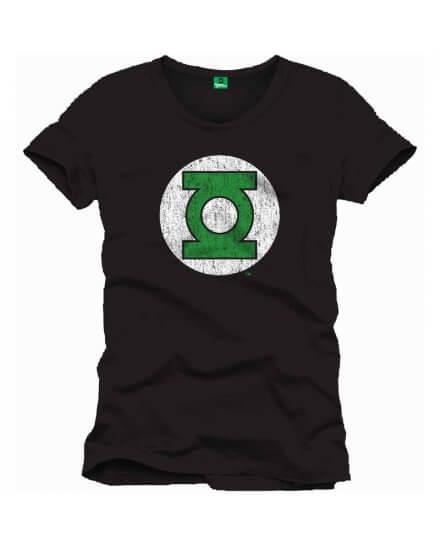 Tee-Shirt Noir Green Lantern