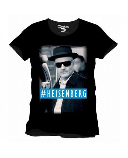 Tee-Shirt Noir #Heinsenberg Breaking Bad