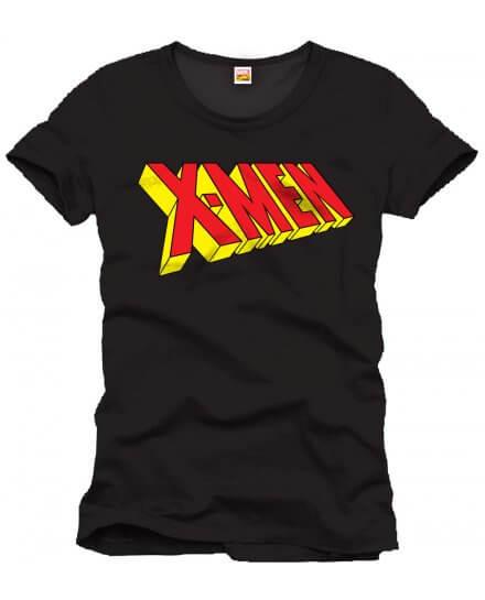 Tee-Shirt Noir Logo X-Men