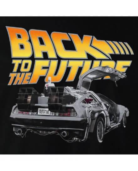 Tee-Shirt Retour vers le futur Delorean