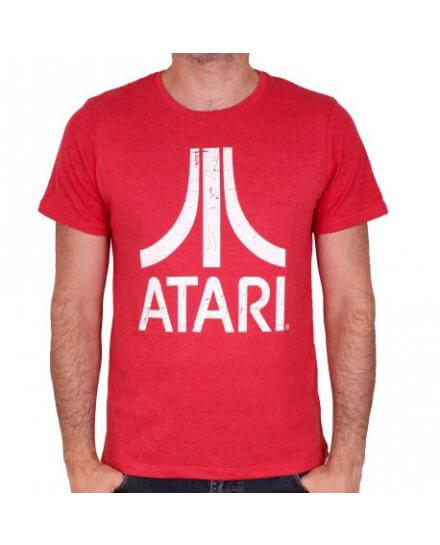 Tee-Shirt Rouge Atari Geek
