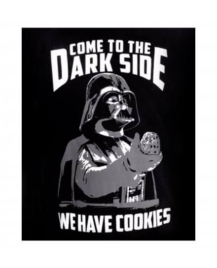 Tee-Shirt We Have Cookies Star Wars