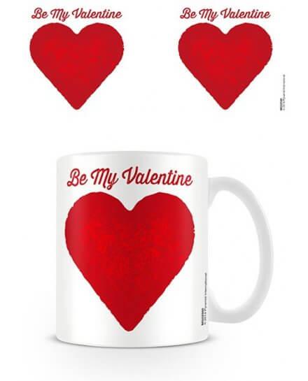Mug Be My Valentine Saint Valentin