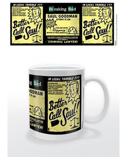 Mug blanc Better Call Saul Breaking Bad