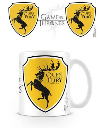 Mug Blanc Céramique Baratheon Game of Thrones