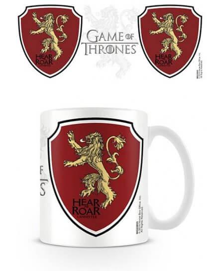 Mug Blanc Céramique Lannister Game of Thrones