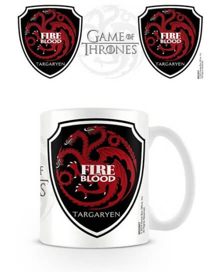 Mug Blanc Céramique Targaryen Game of Thrones